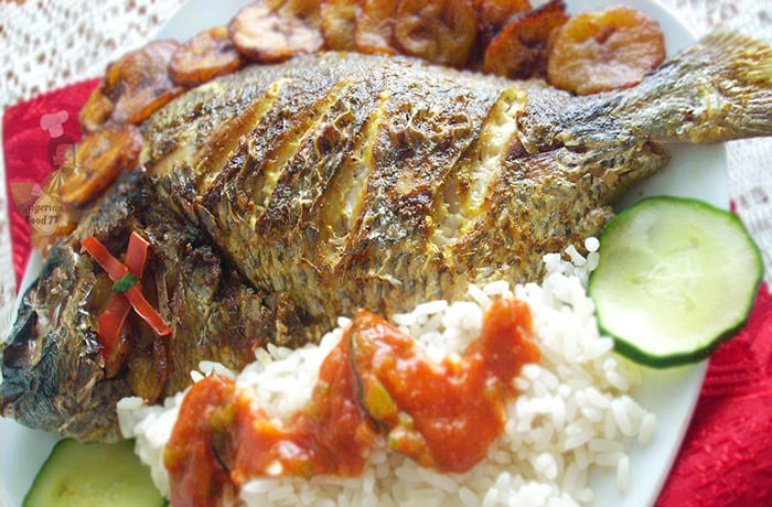 Fish reared naturally and healthily - a good source of protein
