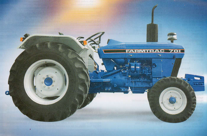 Good stock of tractors and supporting parts