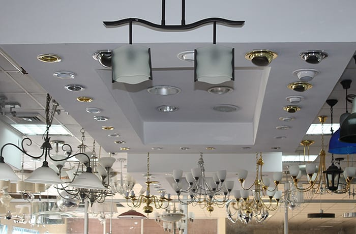 Extensive range of lighting options