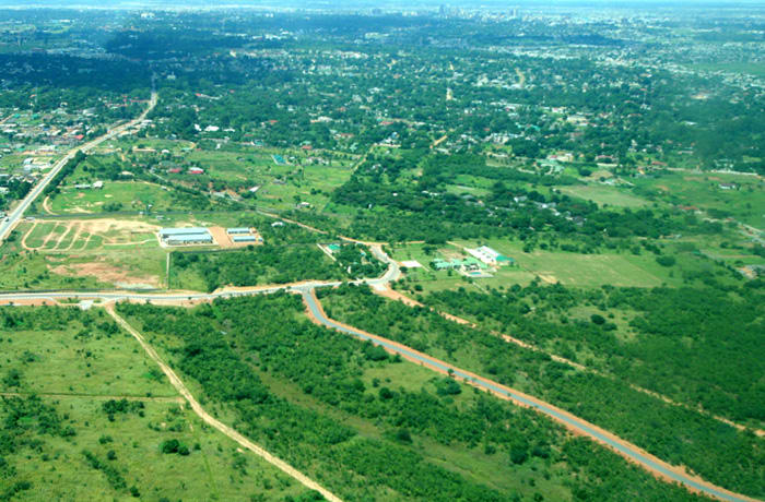 Serviced residential plots ranging from 800 to 1300 sq m