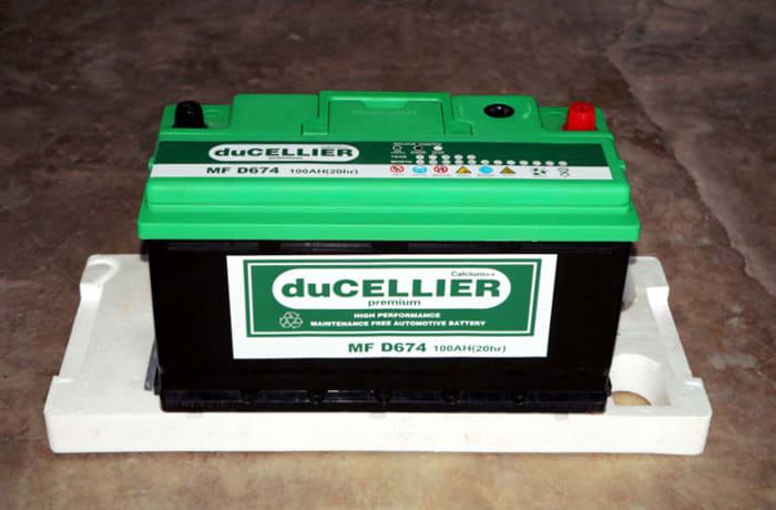 Warranty on all batteries from 6 -15 months
