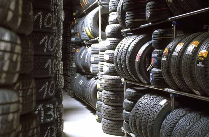 Complete line of heavy duty tyres