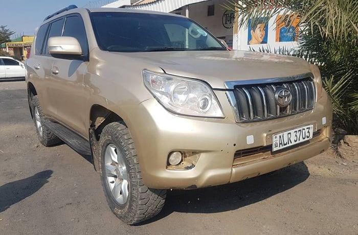 Bikolinah Car Hire vehicle fleet