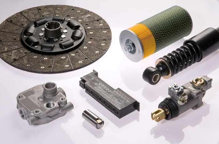 Parts for SUVs, trucks, buses and tractors
