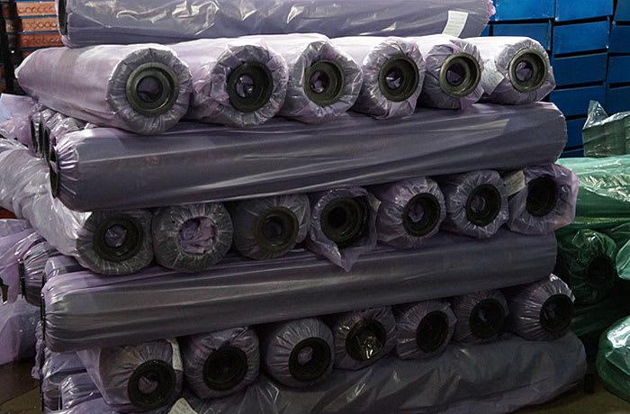 Black polyethylene sheeting