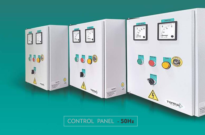 Control box and panels
