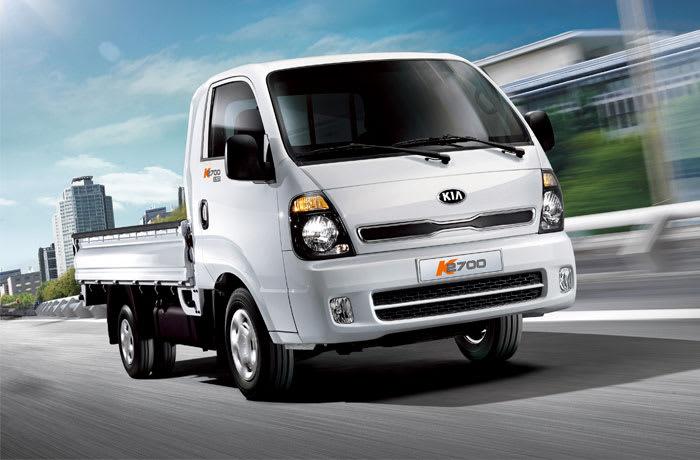 Enjoy your work with the KIA K2700 truck
