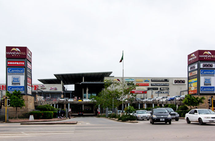 Shopping centre and Showrooms