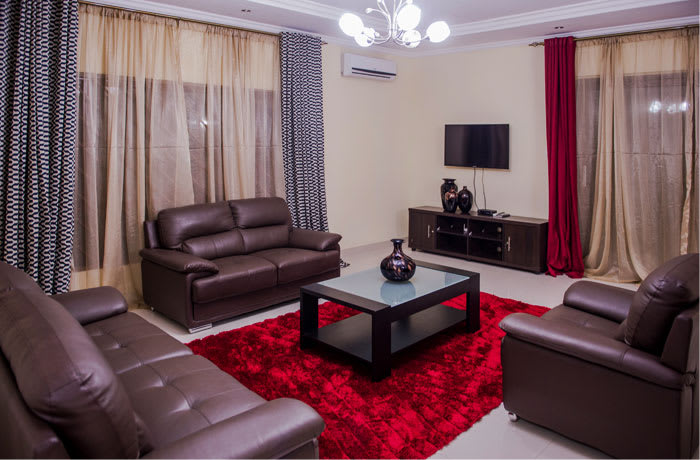 Comfortable accommodation in a quiet and serene environment