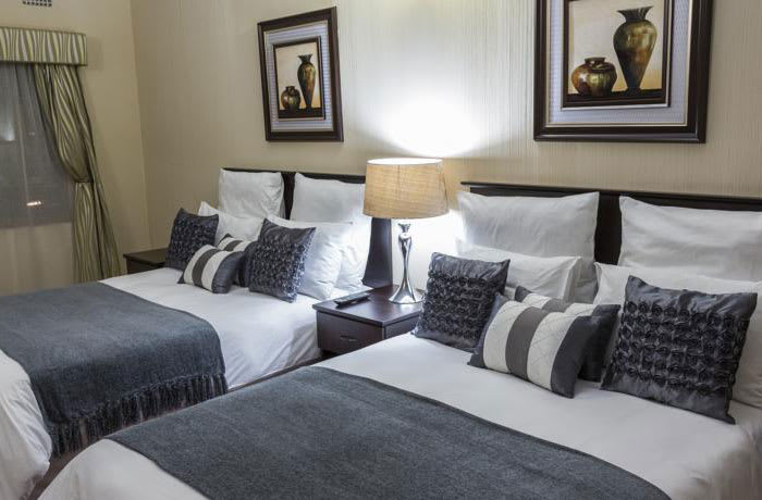 47 Well-appointed rooms for guests arriving in Lusaka for business or pleasure