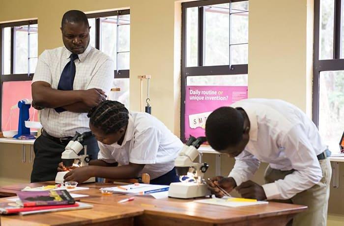 Follows the Cambridge Curriculum together with IGCSEs