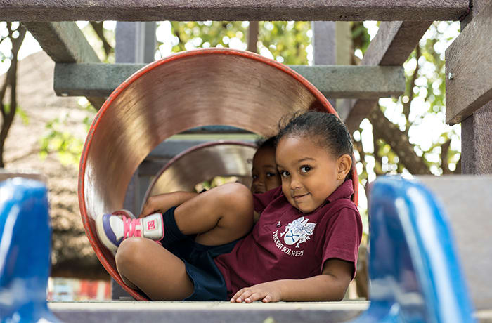 Pre-school programs for children between two and five years