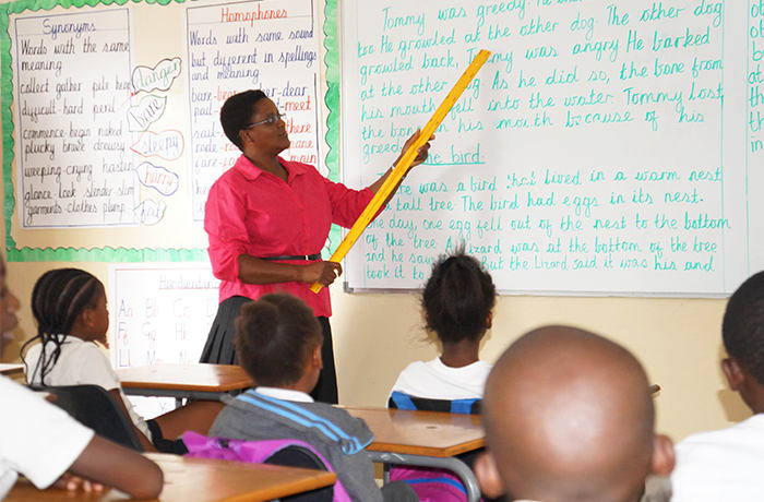 Class sizes are small in modern and well-built classrooms
