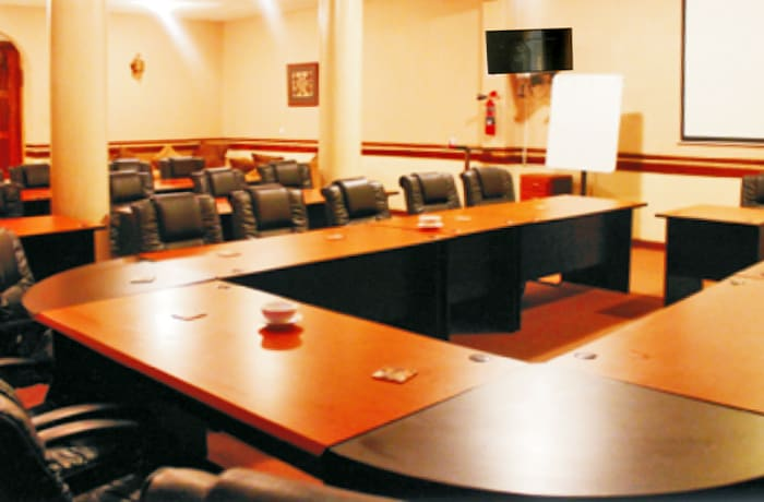 Conference venue with sitting capacity of up to 100 delegates