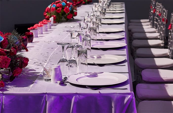 Combines nature and elegance, making it the perfect setting for your event