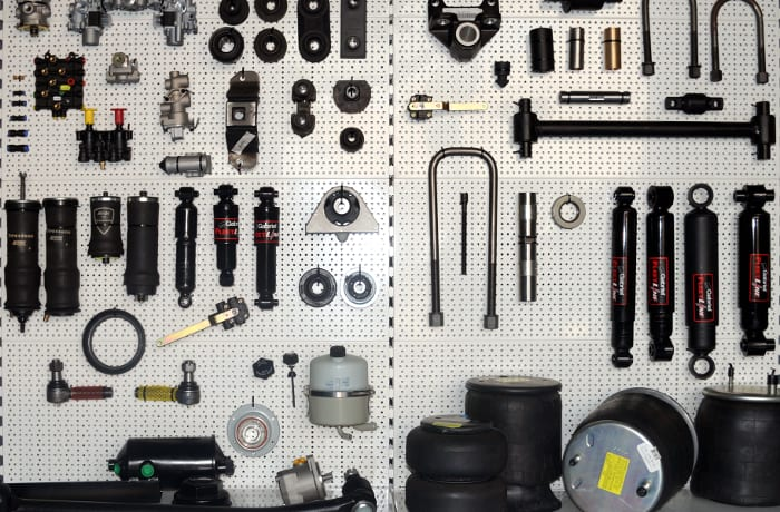 Stockists and suppliers of a broad range of spare parts and accessories