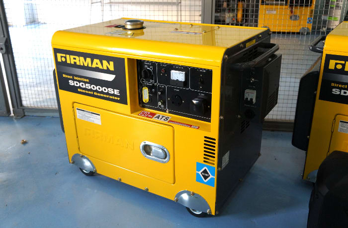 Retailer of Firman power generation equipment and accessories