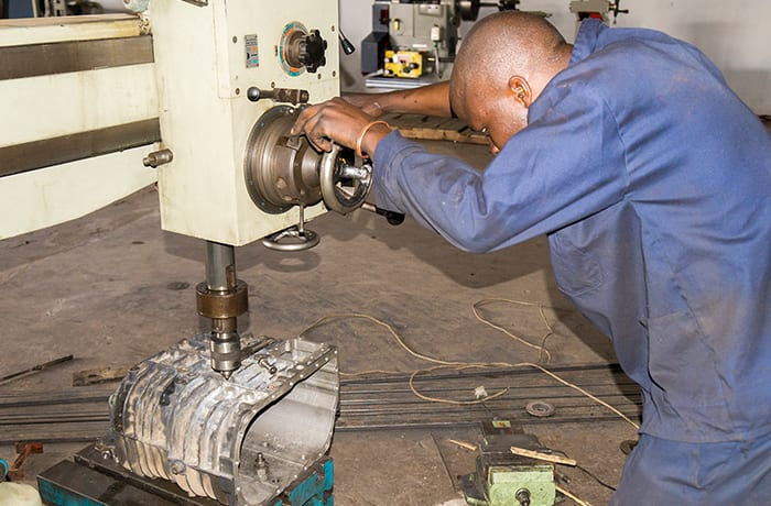 Specialises in turning, machining and fabrication