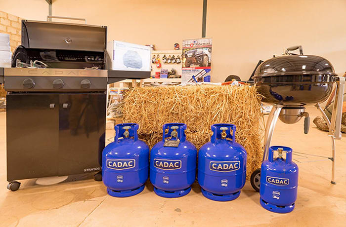 Offering you CADAC gas canisters