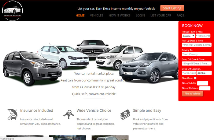 Your online market place for a full range of vehicles