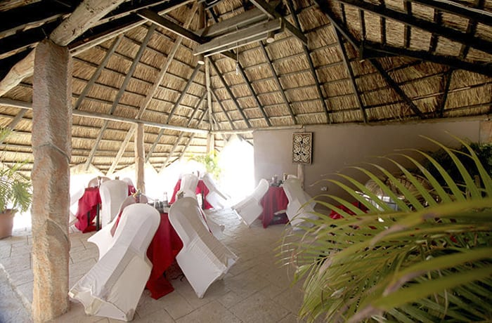 Conference venue can house over 150 delegates depending on how the setup is done