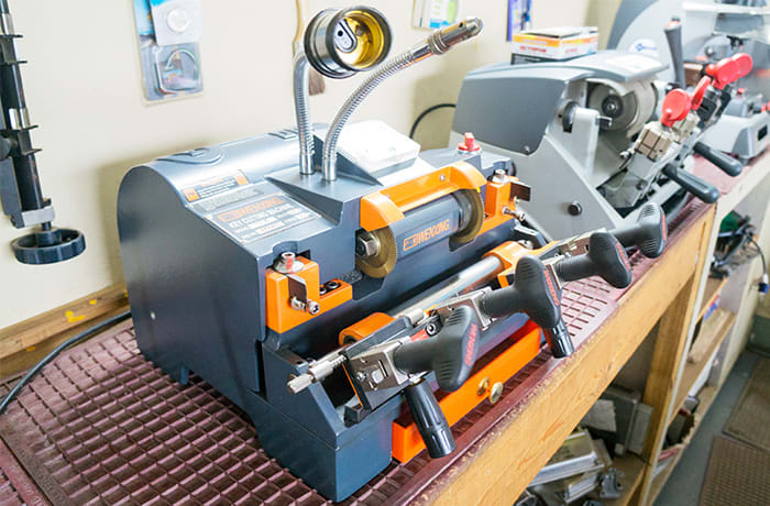 Key cutting tools and equipment for sale