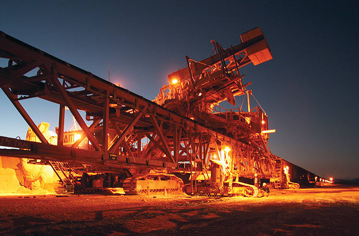Mining enterprises