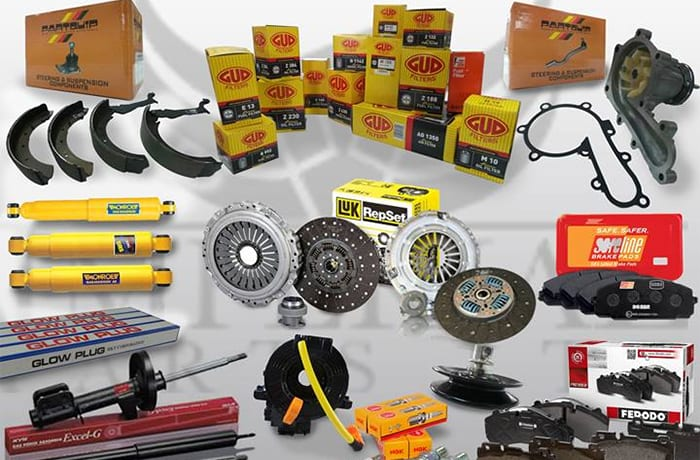 Each service part is backed with a full manufacturers' warranty