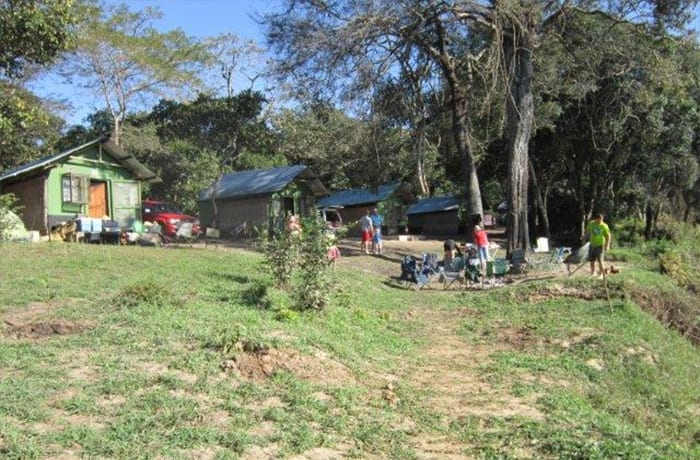 Kitebe Plains View campsite - accommodates a large number of campers