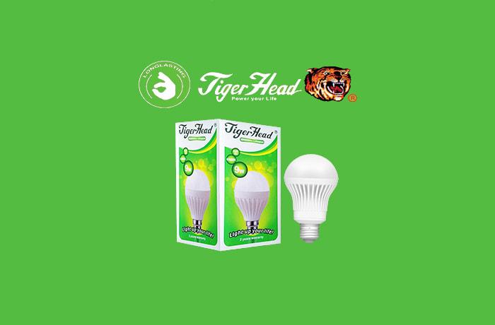 Tiger Head energy saving bulbs