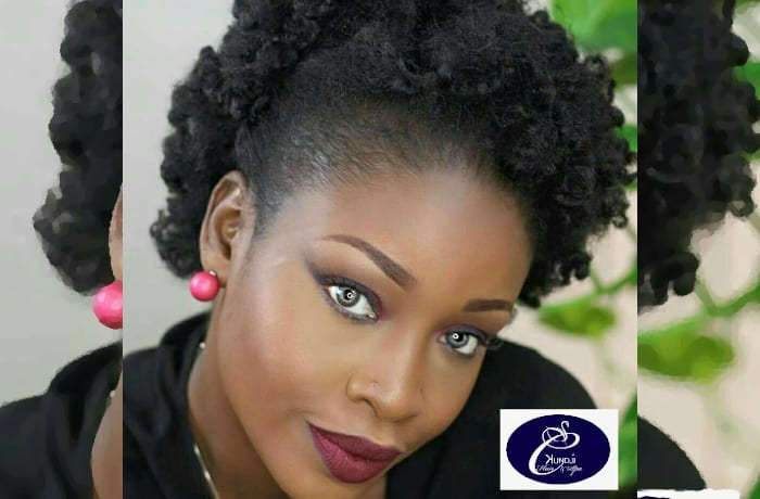 Natural hair treatments with aftercare recommendations on styling tips and styling products