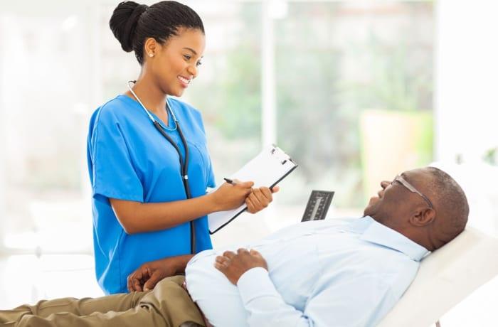 A comprehensive range of home nursing services