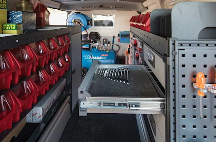 Mobile service vans are able to service any vehicle make and model