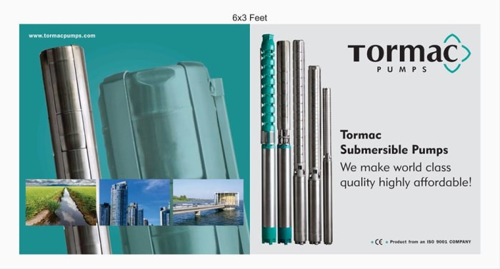 Tormac submersible pumps