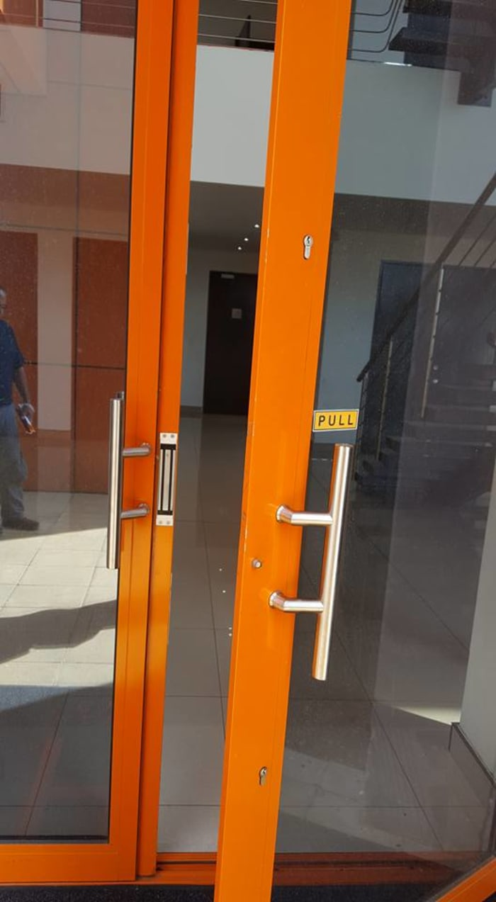 Need access control, but not a fan of those unsightly magnet boxes that sit above the doors?