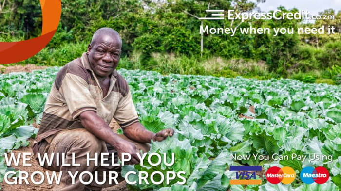 Grow your crops with a peace of mind With ExpressCredit Zambia loan
