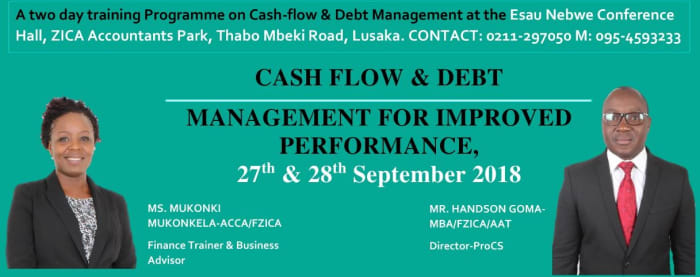 Cash-Flow and Debt Management For Improved Performance - Workshop