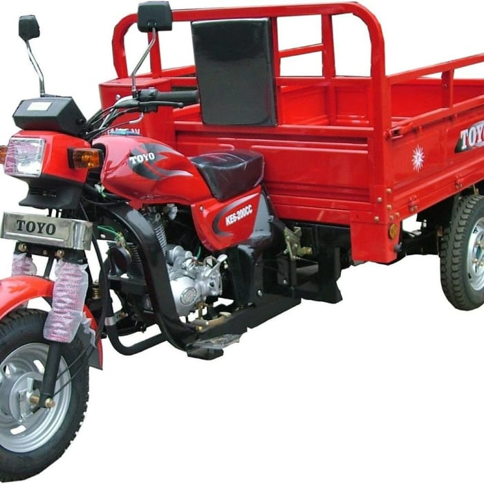 Toyo KE6-200CC tricycle available in store