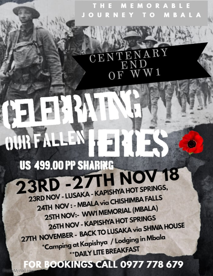 Centenary End of WW1
