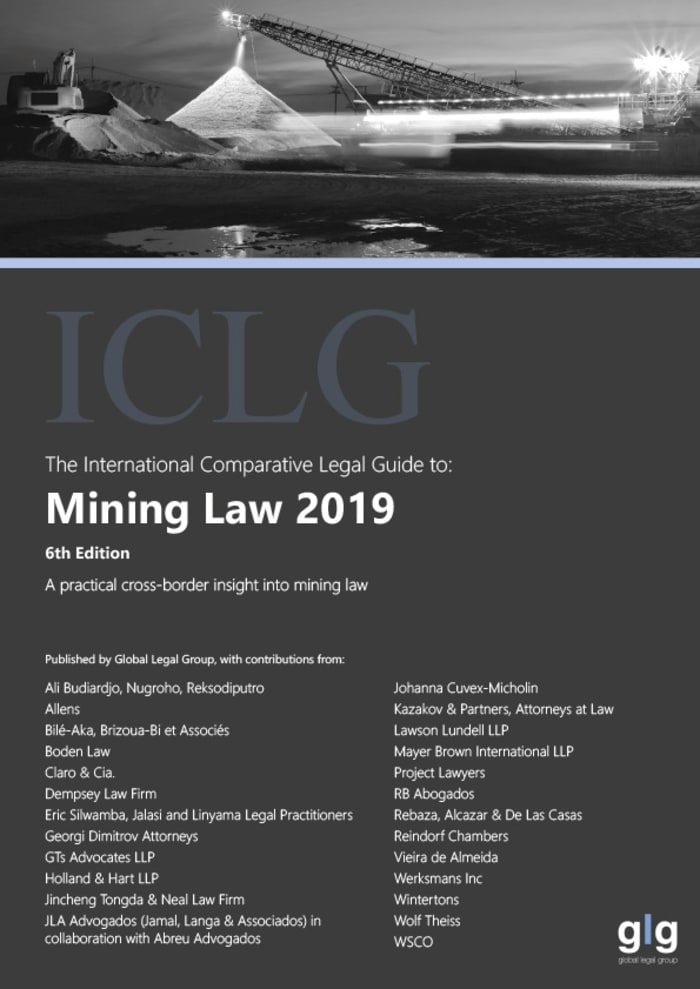 International Comparative Legal Guide to: Mining Law 2019
