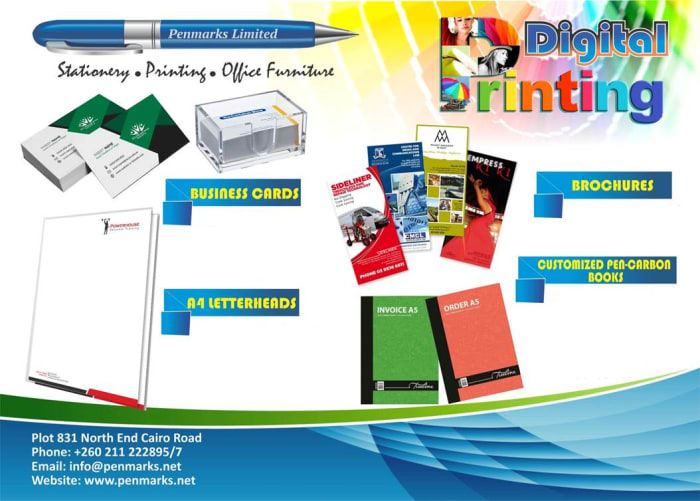Zambia's leading stationery, office furniture and printing supplier
