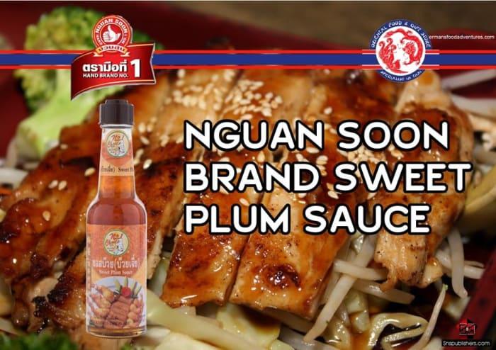 Nguan Soon Brand Sweet Plum Sauce 150ml
