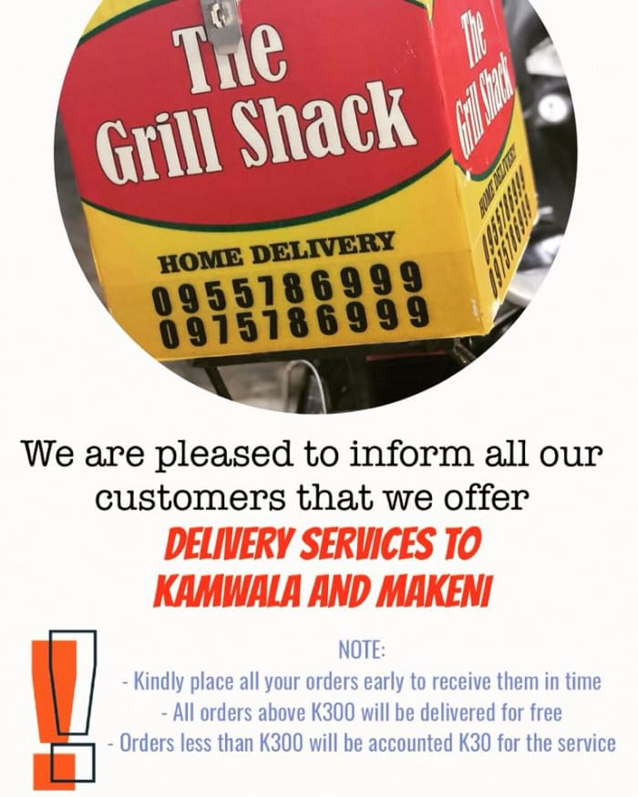 Delivery services in Makeni and Kamwala