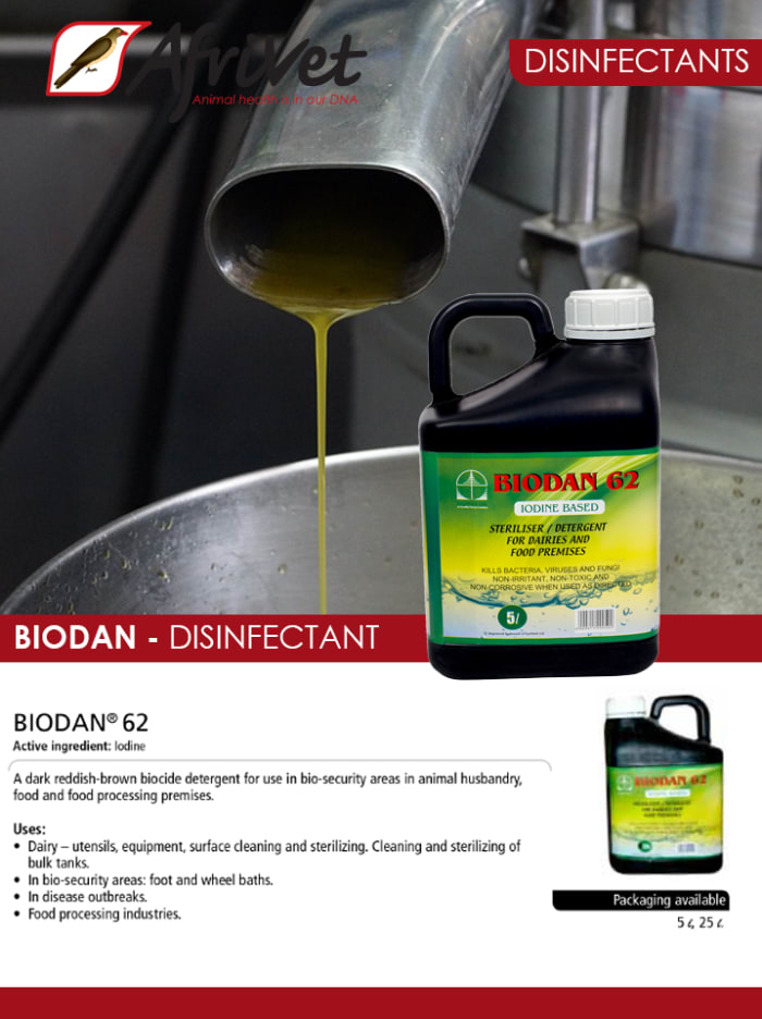 BIODAN® 62 - disinfectant