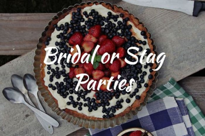 Bridal or stag parties