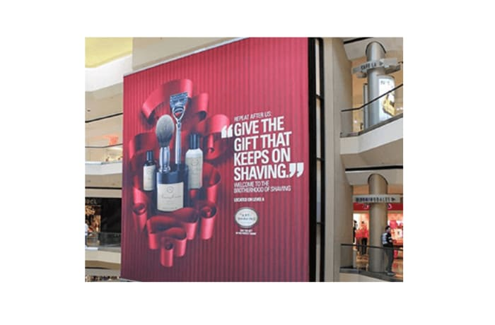Mall media – geo targeted, point of sale and impulse buying centres