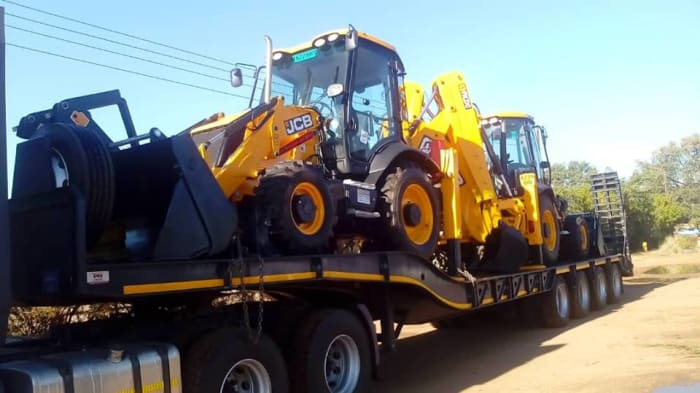 JCB 3CX Backhoe Loaders, with full mine specs