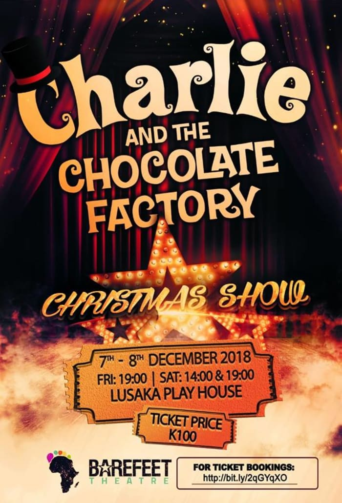 Barefeet Christmas Show - Charlie and the Chocolate Factory