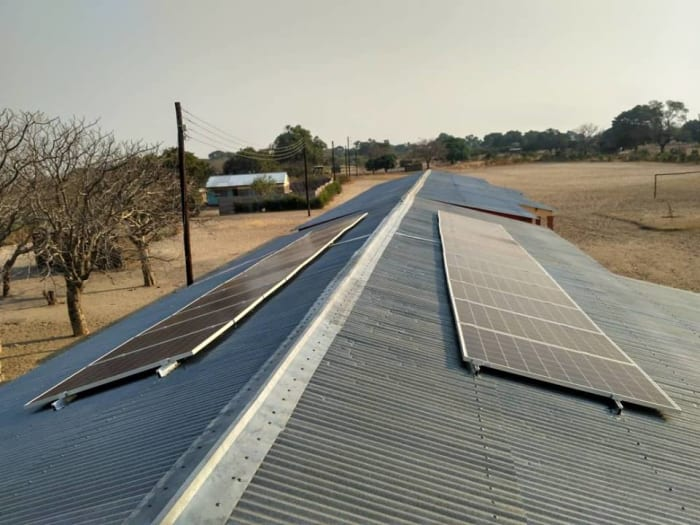 Solar System installed at MAXANAEDI School in Senanga