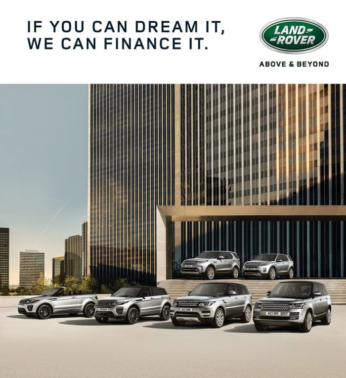 Interest free credit with Land Rover Zambia